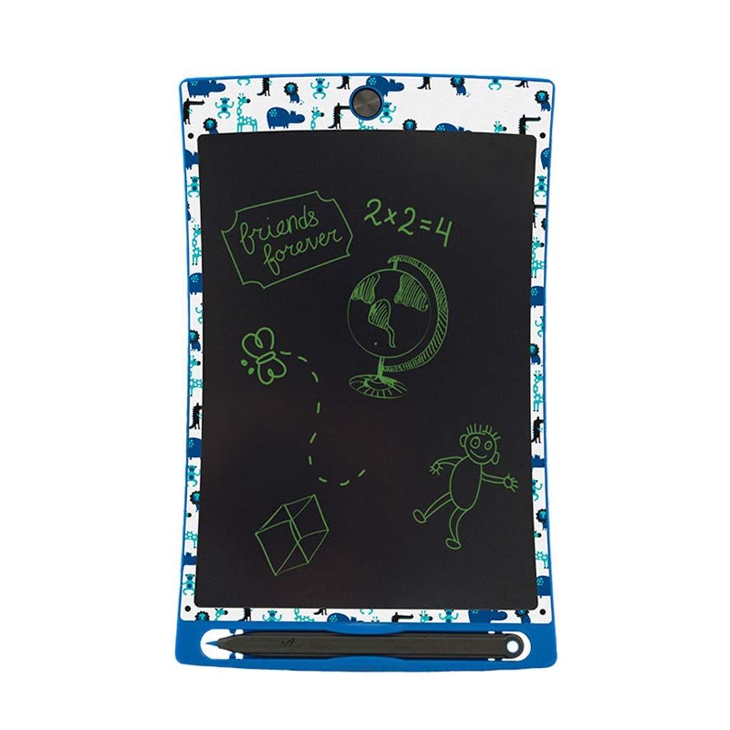CHTXD-Writing board LCD-Tablett-Grafiktablett Abs Kinderheim Schulferien Geschenk Elektronische Malbrett 8.5 Zoll (Blau)