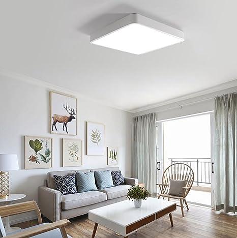 Moderna lámpara de techo de diseño minimalista, para salón ...