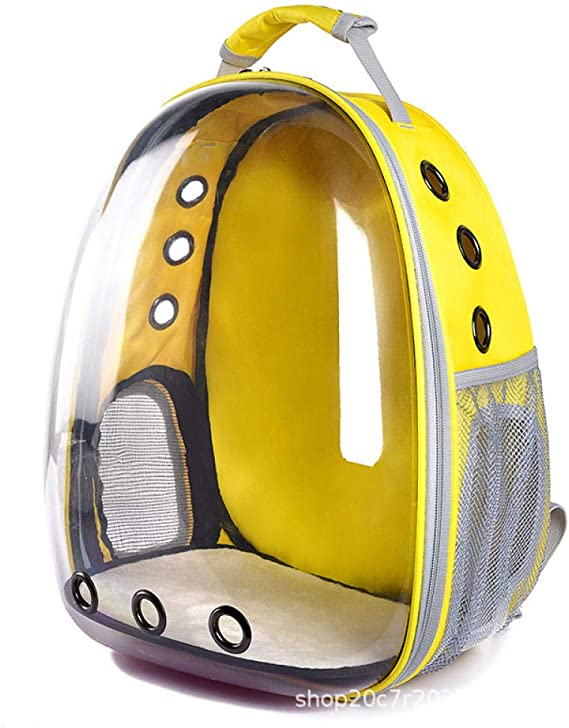 Homthing Panoramic Space Capsule Cat Dog Pet out Portable Backpack: Amazon.es: Hogar