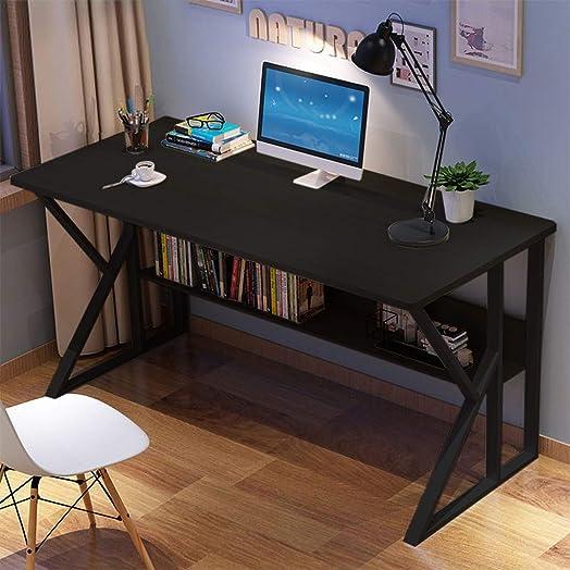 US Stock Office Desk 47 inch Computer Desk Modern Desktop Gaming PC Laptop Desk Work Table Workstation Home Furniture