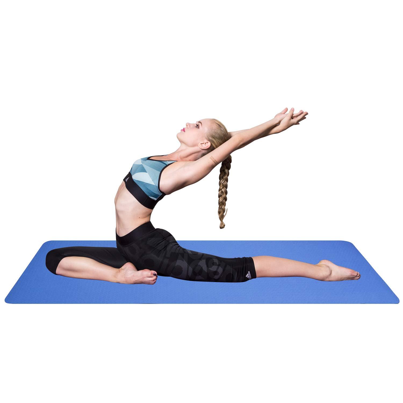 Amazon.com: Gymbopro - Esterilla de yoga de alta densidad de ...
