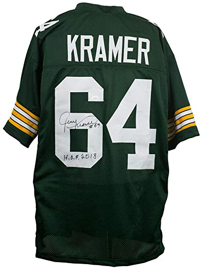 sports shoes 14f39 d3ca0 Jerry Kramer Packers Signed/Inscribed