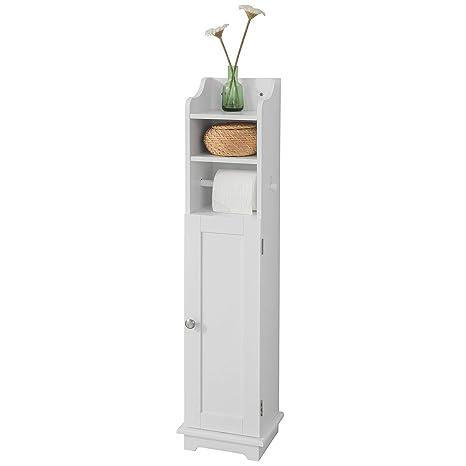 Mobiletto Porta Carta Igienica.Sobuy Frg177 W Supporto Carta Igienica Armoir Wc Porta