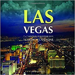 Mini Las Vegas >> Las Vegas 7 X 7 Mini Wall Calendar 2019 16 Month Calendar Mason