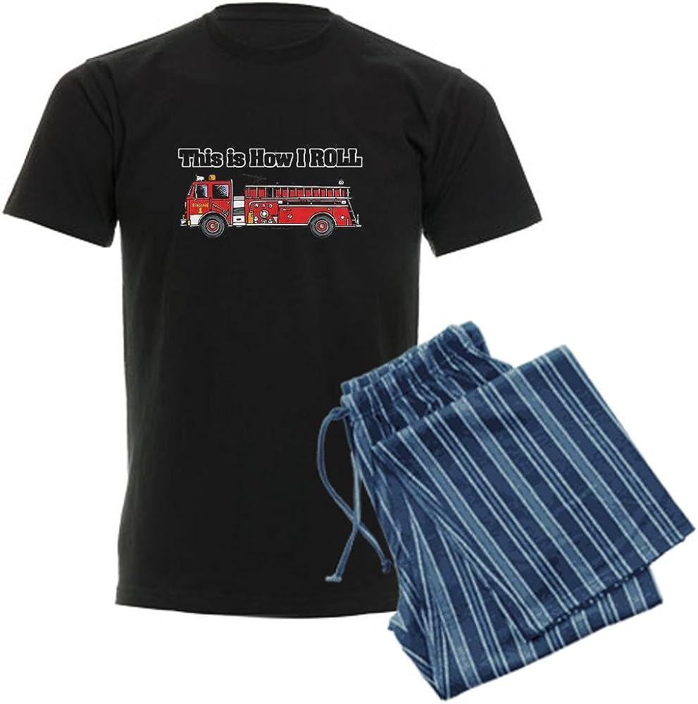 Fire Engine//Truck Mens Pajama Set CafePress How I Roll