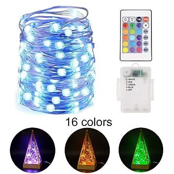 YRE LED-Fernbedienung Vier-Zeilen-Vollfarb-Akku-Box Leuchtet 16 ...