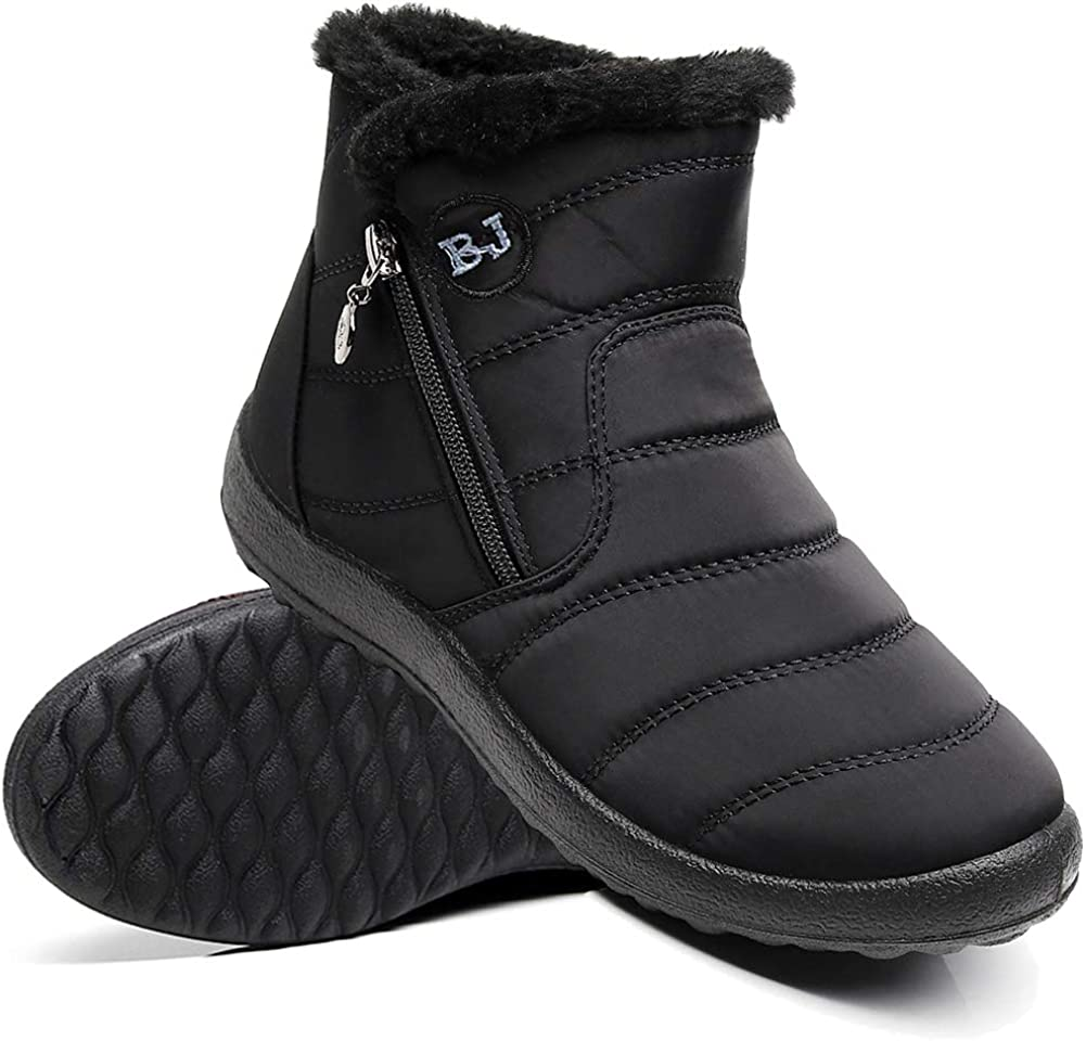 Ymombest Women Lightweight Snow Boots