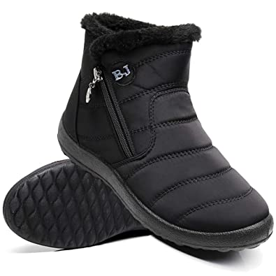 de87d3521 Amazon.com | Ymombest Women Lightweight Snow Boots Winter Anti-Slip ...