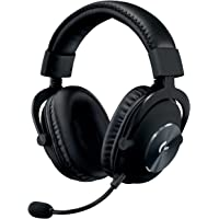 Logitech G PRO Gaming Headset 2nd Generation Comfortable and Durable with PRO-G 50 mm Audio Drivers, Aluminum, Steel and…