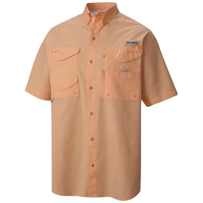 Comfortable and Breathable Columbia Men/'s Bonehead Short-Sleeve Work Shirt
