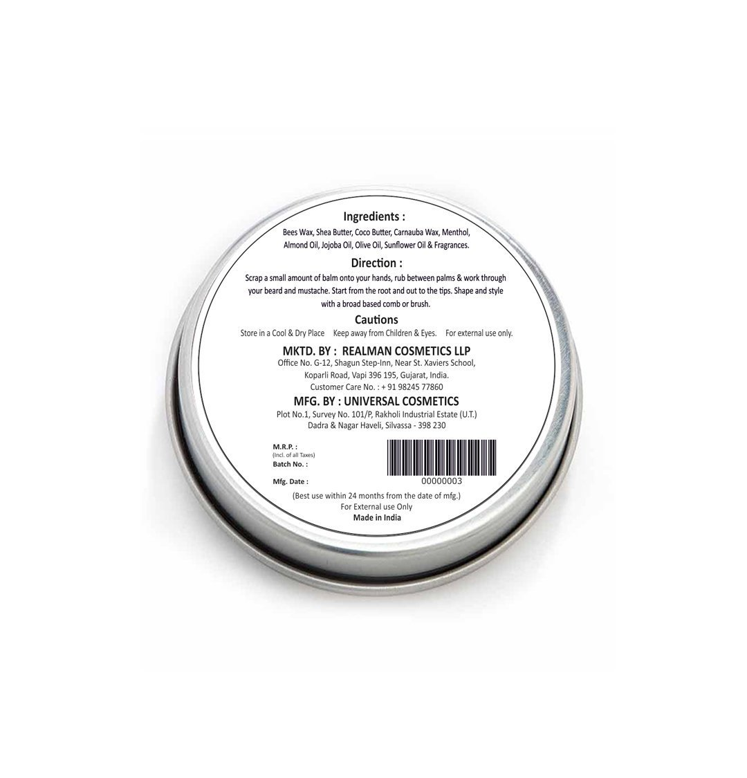 Best All Natural Beard And Mustache Balm Er Wax To Help Growth Softens Conditions Day Hold For Shaping Styling