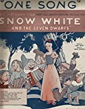 img - for One Song: From Walt Disney's Snow White And the Seven Dwarfs book / textbook / text book