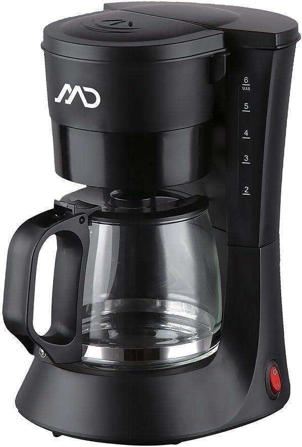 MD MCM de 4001//cafetera de 4 – 6 tazas permanente filtro 0,6 litros. 600 W: Amazon.es: Hogar