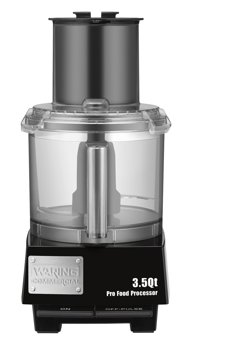 Waring Commercial WFP14S Batch Bowl Food Processor with LiquiLock Seal System, 3-1/2-Quart