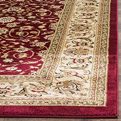 "Safavieh Lyndhurst Collection LNH312B Traditional Oriental Light Blue and Ivory Area Rug (5'3"" x 7'6"")"