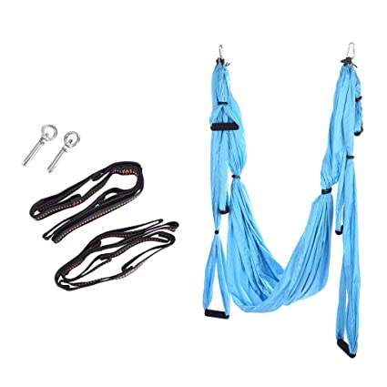 Aerial Yoga Swing Set, Trapeze Yoga Kit - Yoga Hammock ...