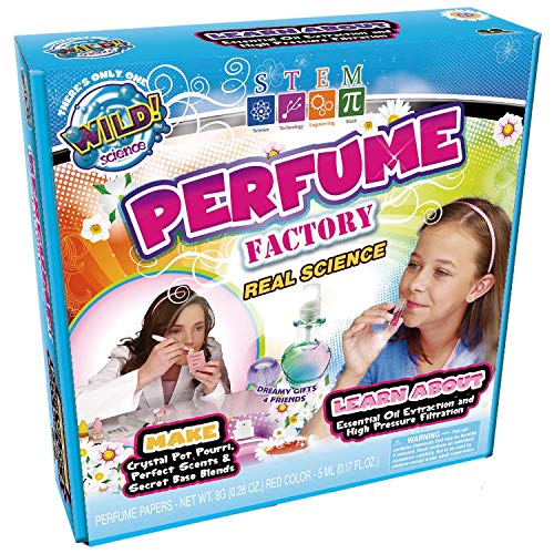WILD! Science Perfume Factory Science Kits for Kids - Stem - DIY Fun with Fragrance Experiments