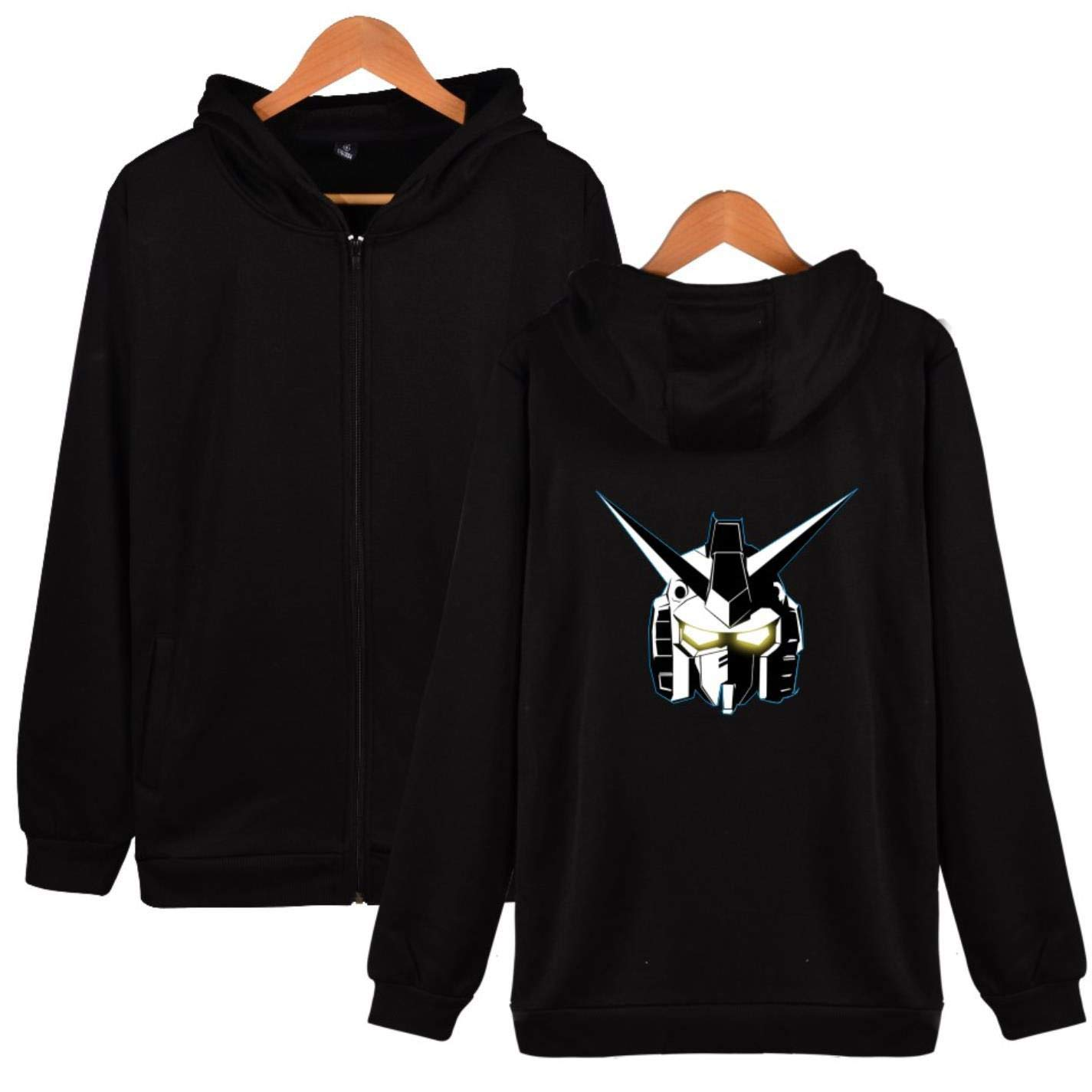 BWWX Anime Printed Hoodie Sweatshirt Men Women Zipper Tracksuit Model at Amazon Womens Clothing store: