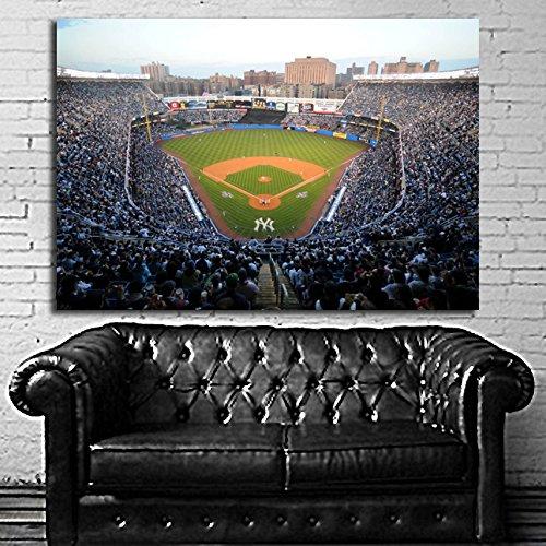 Poster Mural NY Yankee Stadium Baseball 40x58 inCH (100x145 cm) Adhesive Vinyl #06