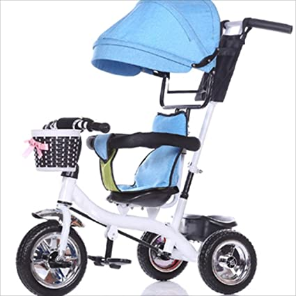 Childrens Bicycle 8 Months Bicycle 6 Years Old with Awning Full Rubber tire