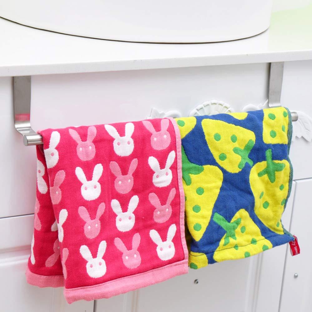 Badezimmer Schublade Haken Handtuch Handtuchhalter f/ür Schrank Handtuchstange /über der T/ür K/üche