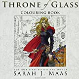 img - for The Throne of Glass Colouring Book book / textbook / text book