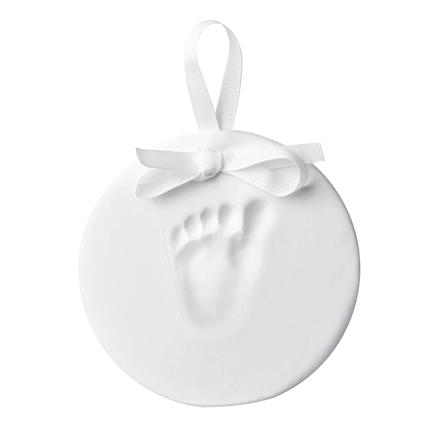 Little Pear Hanging Baby's Print Keepsake Ornament, Holiday Gift, Nursery Décor, Creative Baby Gift, or Addition to Baby Registry