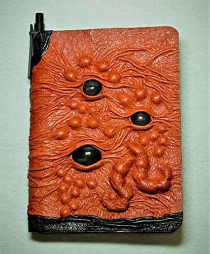 Amazon Com  Large Tan Brown Black Leather Journal
