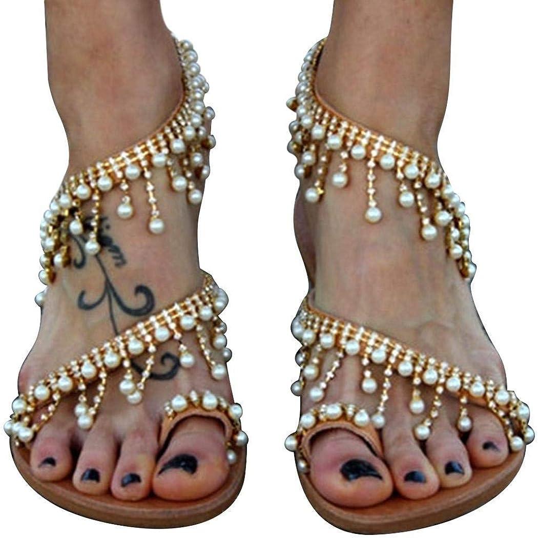 Minishion Womens Crystals Ankle Wrap Satin Bridal Wedding Dress Sandals