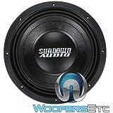"SUNDOWN AUDIO SD-4 10 D2 SUB 10"" 600W RMS Dual 2-OHM SUBWOOFER BASS Speaker New"