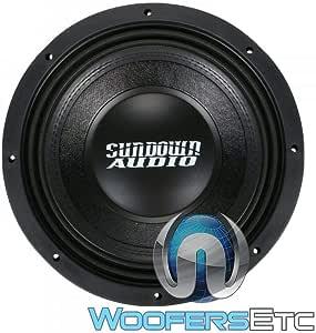 "SUNDOWN AUDIO SD-4 10 D4 SUB 10"" 600W RMS Dual 4-OHM SUBWOOFER BASS Speaker New"