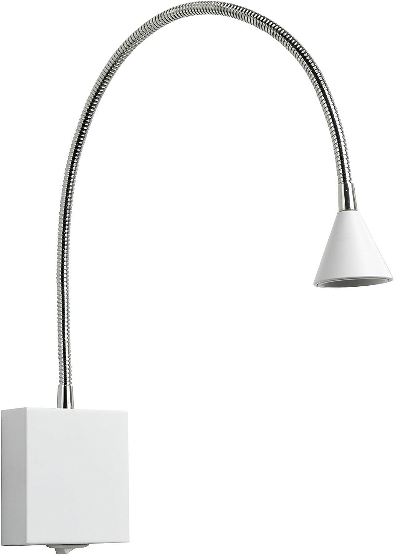 Lucide BUDDY - Bettlampe - LED - 1x3W 4000K - Weiß White