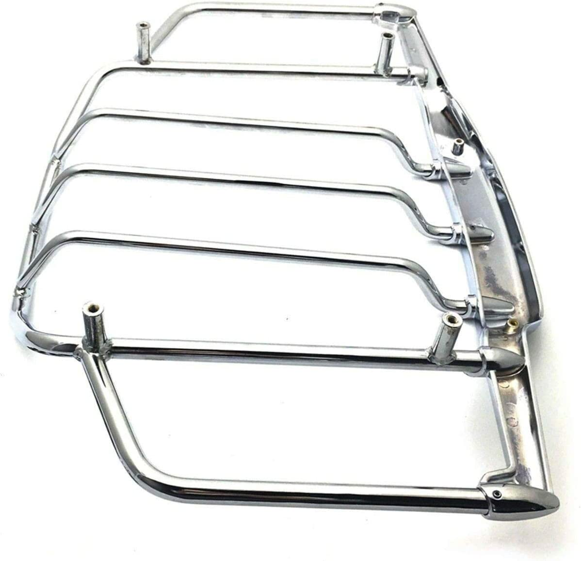 BBUT Chrome LED Lighted Airwing /& Luggage Rack For Harley-Davidson Tour Pak Trunk Pack 1993-2013 1994 1995 1996 1997 1998 1999 2000 2001 2002 2003 2004 2005 2006 2007 2008 2009 2010 2011 2012