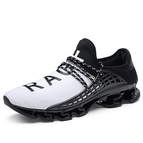 Zapatillas Running Hombre Sneakers Calzado Deportivo Aire Libre y Deporte Gimnasia Respirable: Amazon.es: Zapatos y complementos