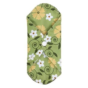 Almohadilla Sanitaria de Bambú al Carbón, 6 Estilos Liners Panty Reutilizables Lavable Anti-ensuciamiento Menstrual Comfort Almohadillas de tela ...