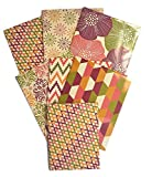 Colorful Design Olivia School Supply Bundle: 7 Items: Seven Assorted Olivia Two Pocket Folders, Plus One Matching Hardcover College Ruled Composition Notebook