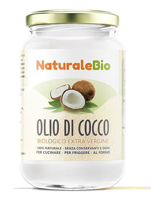 292 opinioni per Olio di Cocco Biologico Extra Vergine 500 ml | Crudo e Spremuto a Freddo |
