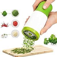 Herb Grinder,ShowTop Spice Mill Parsley Shredder Chopper Vegetable Cutter Garlic Coriander Spice Grinder Crusher Kitchen…