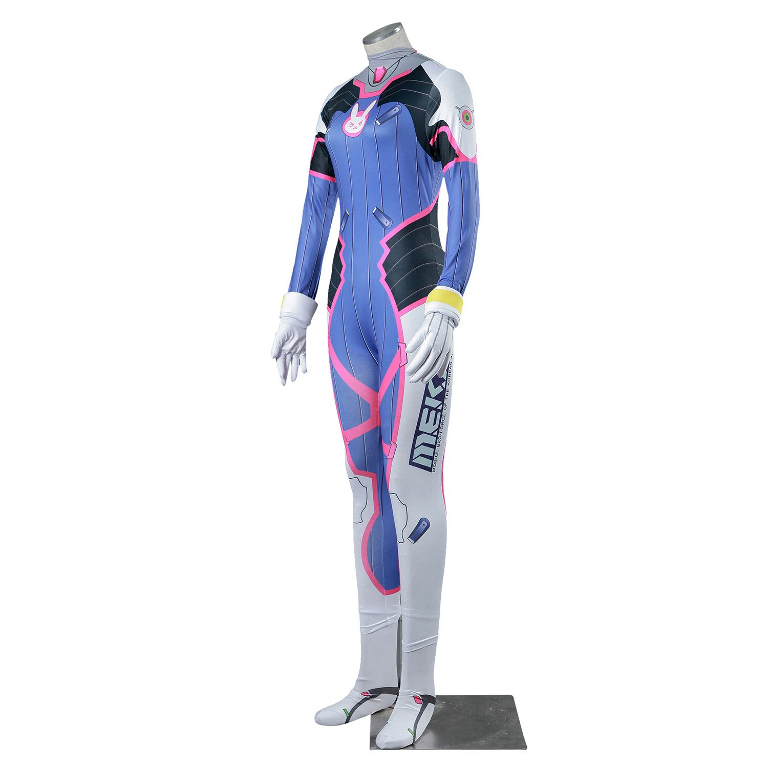 De-Cos Cosplay Costume Mech Pilot D.Va Hana Song Outfit Set V1 ...
