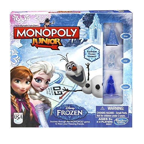 Monopoly Junior Frozen Board Game product image