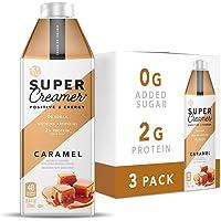 Kitu Super Coffee Keto Coffee Creamer | 0g Added Sugar, 2g Protein, 40 Calories [Caramel] 25.4 Fl Oz, 3 Pack