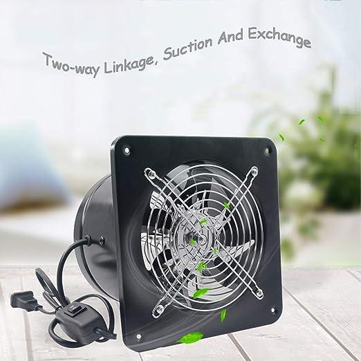 De Doble Uso Ventilador, 7 Pulgadas, Ventilación Transpirable con Rejilla Protectora Ventana De Tipo Mute For Uso Industrial ZHAOSHUNLI 923: Amazon.es: Hogar