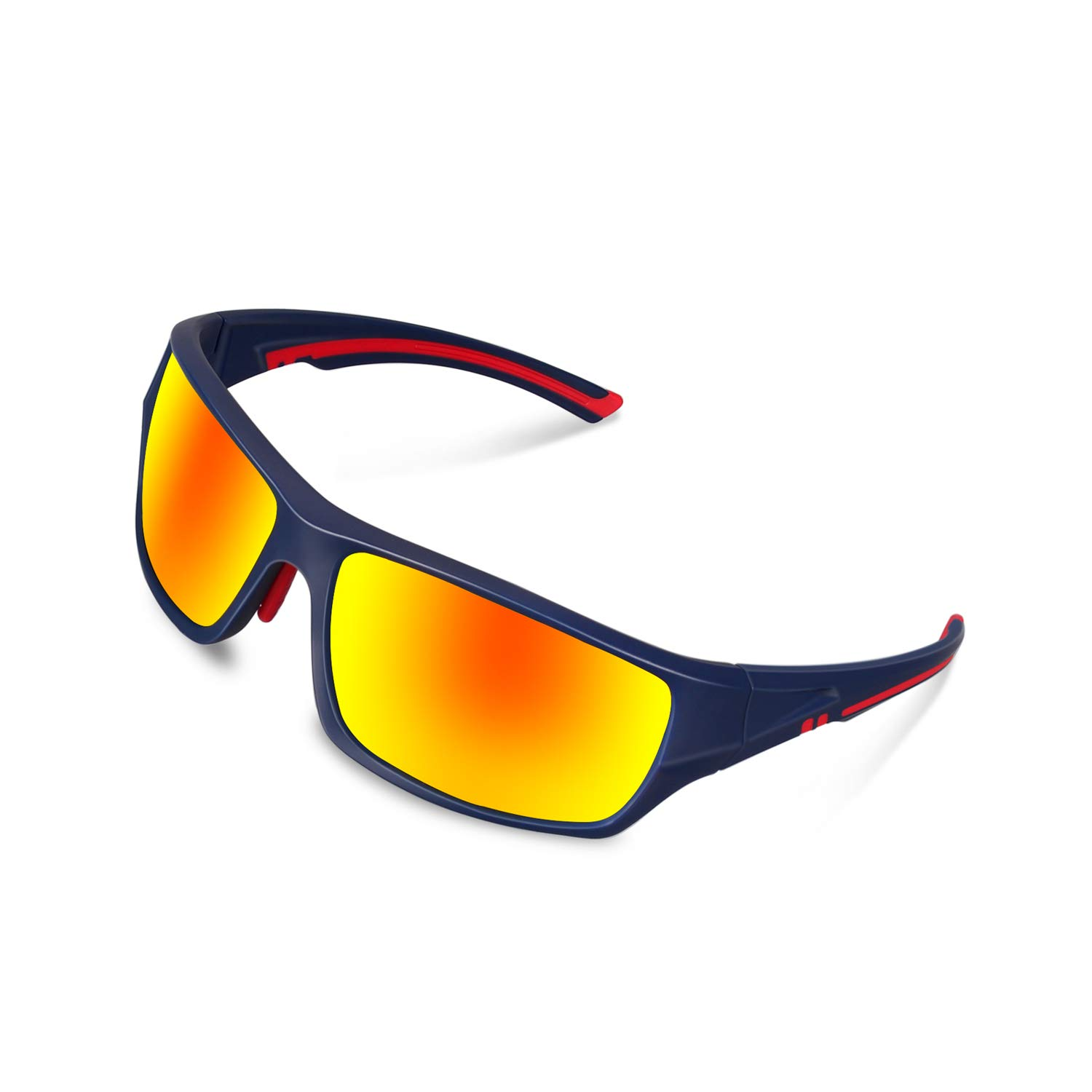 DUIDY Polarized Sports Sunglasses for Men Women Cycling Running Fishing Golf Baseball Softball Tennis UV Protection