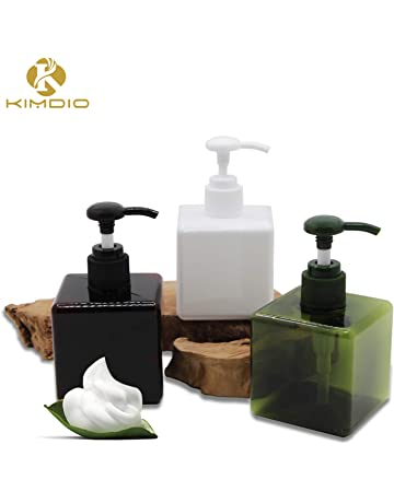 Kimdio Lotion Dispensers Bottles 8.45oz/250ml 3 Pack Countertop Lotion Clear Liquid Hand Soap