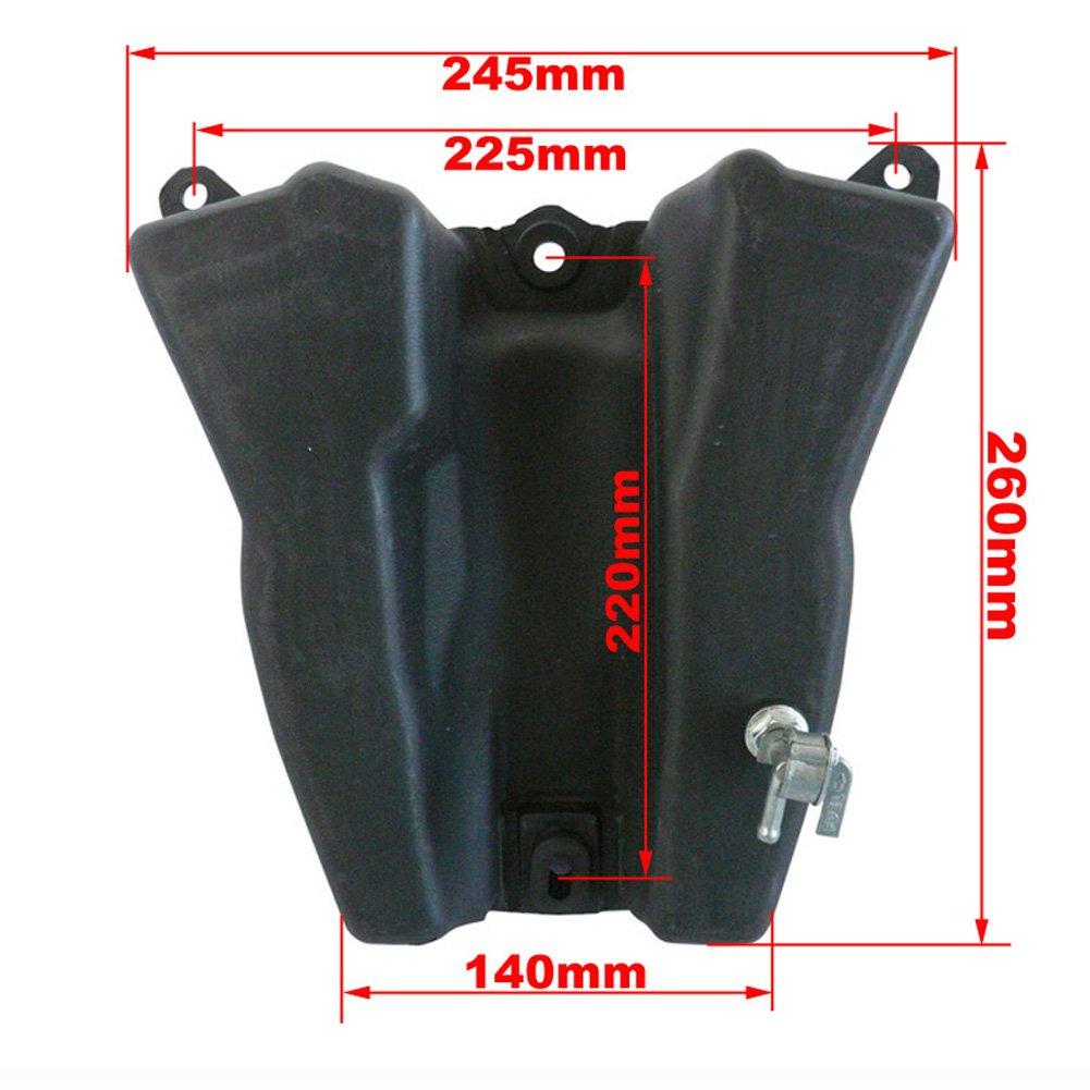 Kit de Guardabarros para Honda XR50 CRF50 Pit Dirt Trail Motor Bike STONEDER Tank