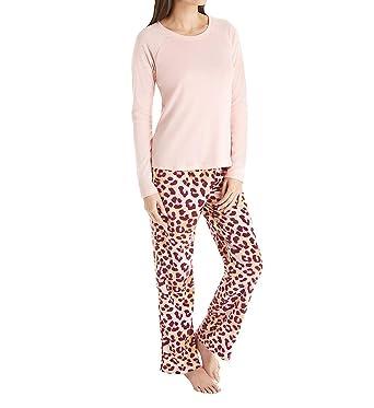 b6abed315e Maidenform Holiday Rib Shirt and Fleece Pant Pajama Set (MFW7880) L ...