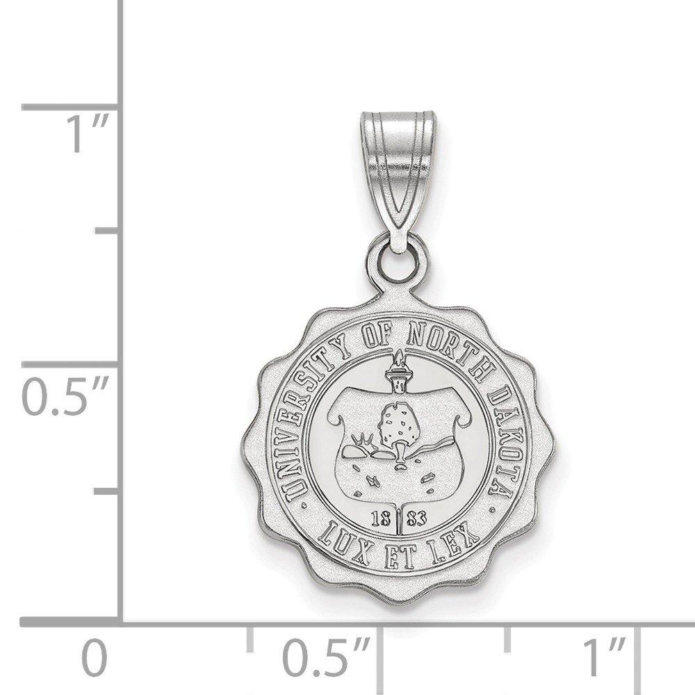 FB Jewels Sterling Silver LogoArt Auburn University Large Dog Tag