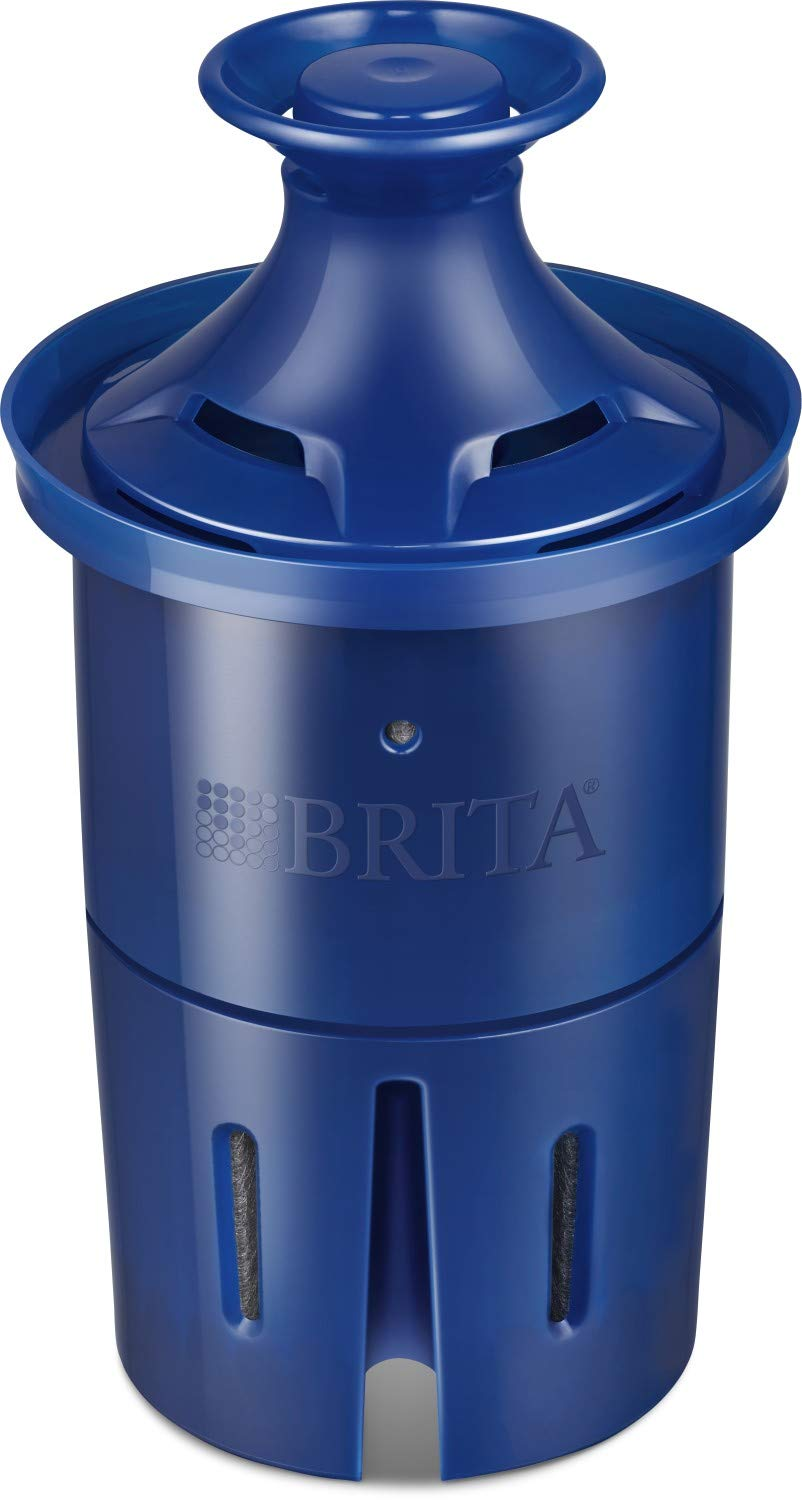 Brita Longlast Pitcher and Dispenser Replacement Water Filters, Blue, 1 Count