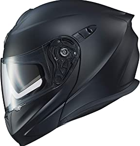 ScorpionExo EXO-GT920 Full Face Modular Helmet (Matte Black, Medium)