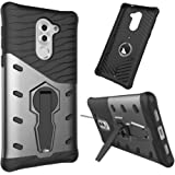 Tarkan 360 Degree Kickstand Sniper Cover For Honor 6X [Grey]